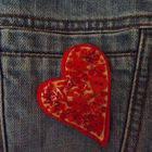 Love Heart Brooch