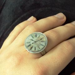 Clock Ring Out Of A Coin.