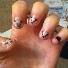Panda Nails!!