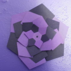 3 D Wall Design From Paper