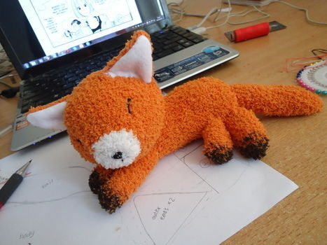 Fox Sock Plushie · How To Make A Fox Plushie · Needlework ...