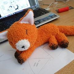 Fox Sock Plushie
