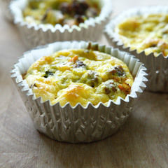Bison And Egg Muffins