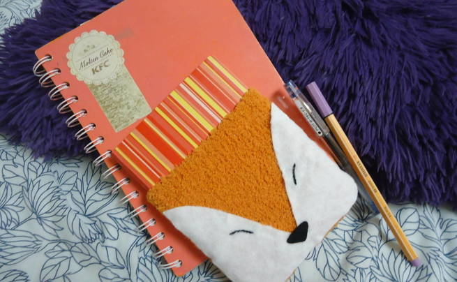 Fox Agenda Or Diary Cozy