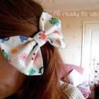 Fabric Hair Bow Tutorial