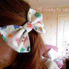 Fabric Hair Bow Tutorial