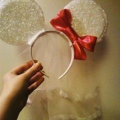 Diy Mickey/Minnie Ears