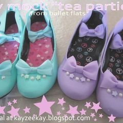 "Mock ""Tea Parties"" From Ballet Flats"