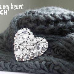 Decoden My Heart Brooch