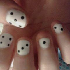 Dice Nail Art