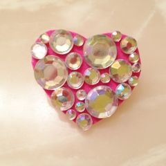 Decoden My Heart Brooch