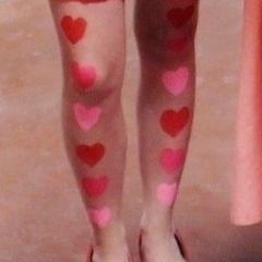 Simple Heart Legs
