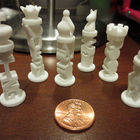 Mini Typography Chess Set