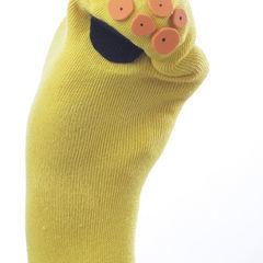 Dr Alien Eyes Sock Puppet