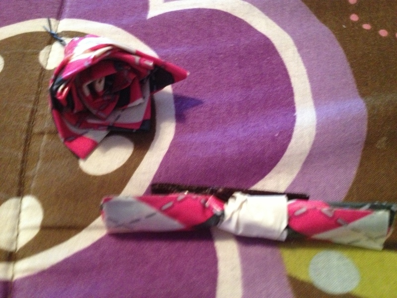 Duct Tape Floral Hair Accessories · A Pin / Slide · Hair Styling on
