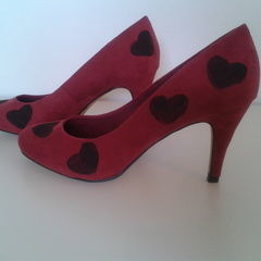 Heart Stamped Shoes