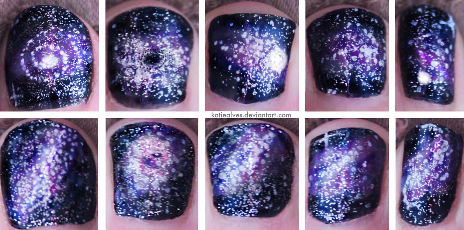 Как сделать фото с космосом