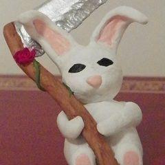 Bunny With A Sythe