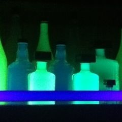 Glowing Highlighter Bottles