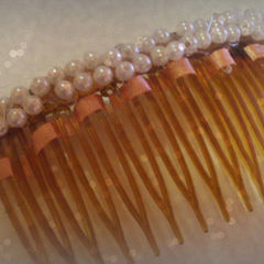 Decoden Meets Vintage Hair Comb