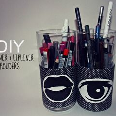 Eyeliner & Lipliner Pencil Holders
