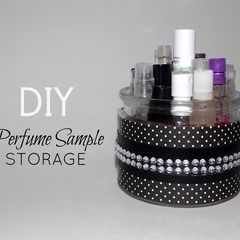 Perfume Sample Storage