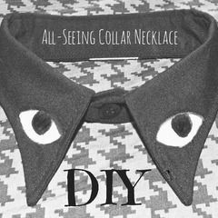 All Seeing Collar Necklace