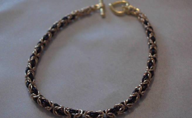 Byzantine Weave Chainmaille Bracelet