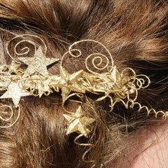 Starburst Fairylike Hairclip