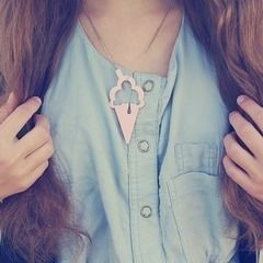 Ice Cone Necklace