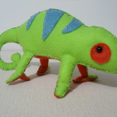 Stuffed Chameleon