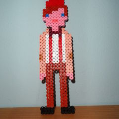 11th Doctor In Hama Beads