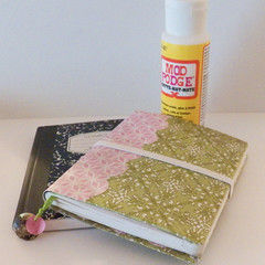 Paper Covered Mini Composition Books