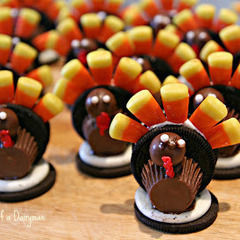 Oreo Turkey Treats!!!