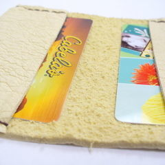 Buckskin Card Holder