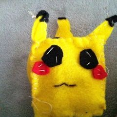 Cube Pikachu Plushie My Version