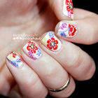 Square small flowernailart3