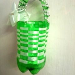 Basket From Soda Bottle!