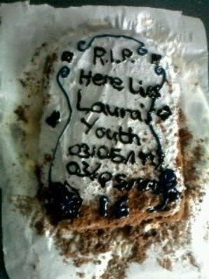 Rip Gravestone Birthday Cake 183 An Object Cake 183 Recipes On