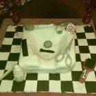 60th Hairdressers Cake!