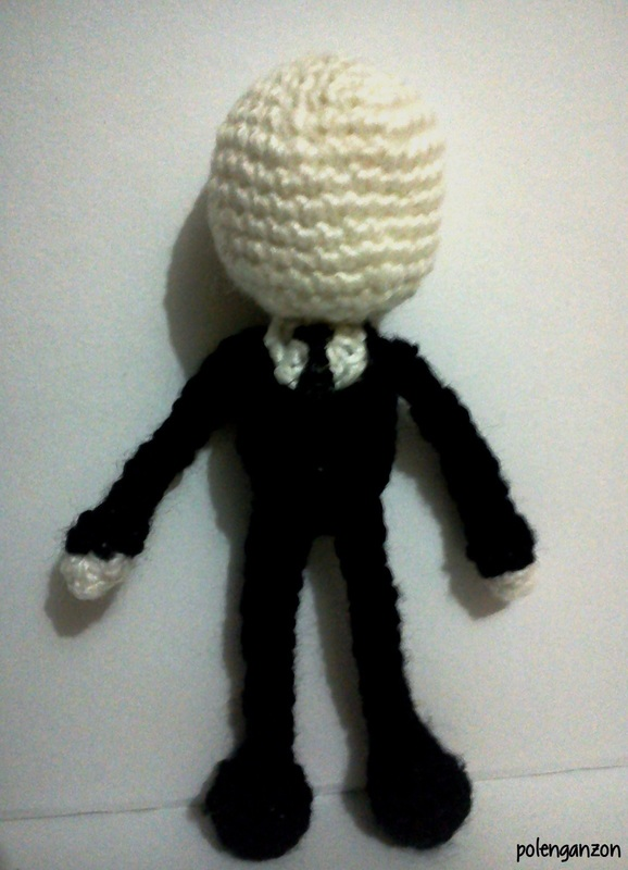 Slender Man Amigurumi ? A Character Plushie ? Yarn Craft ...
