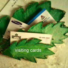 Holder For Visiting Cards