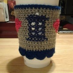 Doctor Who Tardis Coffee Cozy