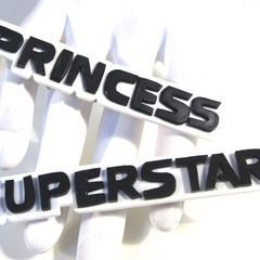 Princess Superstar Knuckle Rings