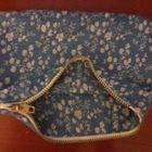Square small zipper bag