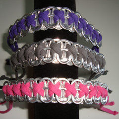 Bracelets From Soda Can Tabs