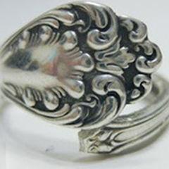 Diy Ring Jewelry Retro Style Spoon Jewelry Making Diy