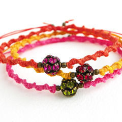 Knotted Friendship Bracelets
