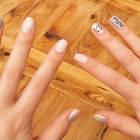 Pastel Cat Nails