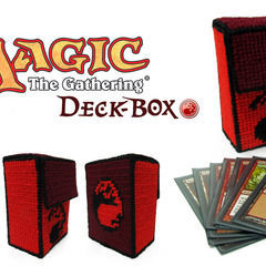 Magic The Gathering Deck Box   Red Mana